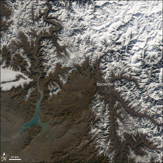 MODIS images of Central Asia
