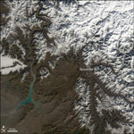MODIS reflectance images of Central Asia