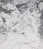 MODIS reflectance image of Western Russia