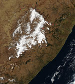 MODIS reflectance image of South Africa