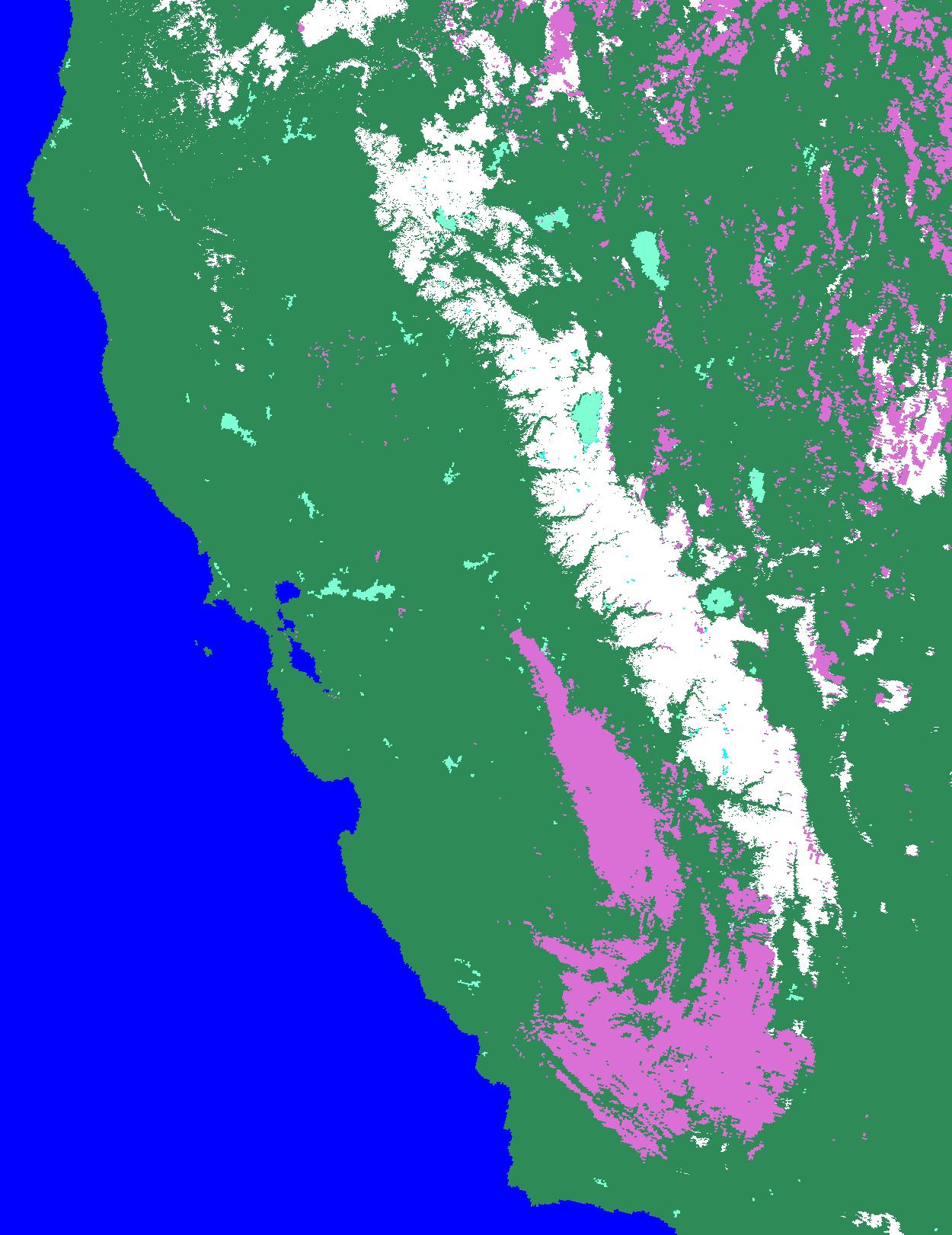 snow in california map California 10 31 04